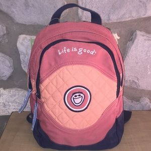 Life is Good Backpack
